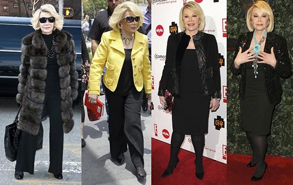 Joan Rivers: 80 años de estilo