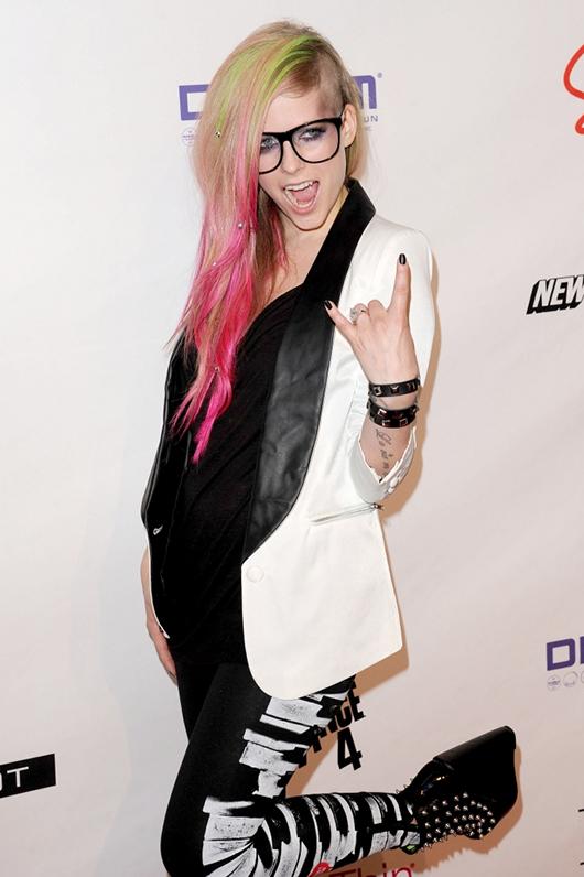 Avril Lavigne y su estilo eternamente rebelde