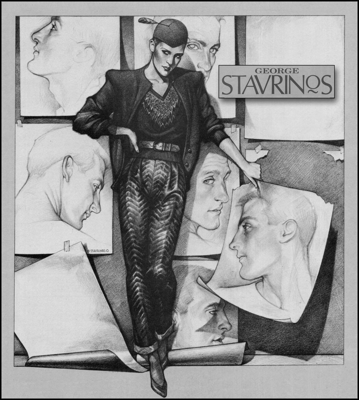Las ilustraciones de George Stavrinos