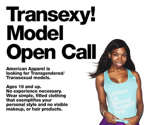 Fashion News: Transexy!, el llamado de American Apparel, Liquidación Final en Hall Central y lo nuevo de Skechers