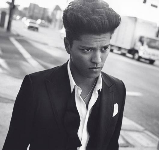El estilo clásico de Bruno Mars