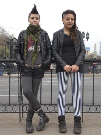 Natalia Valenzuela y Fernanda Diocares