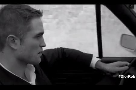 VLC ♥ Robert Pattinson para Dior Homme
