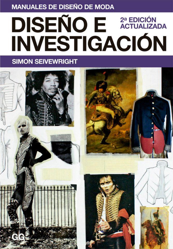 Libros de Moda: Diseño e Investigación por Simon Seivewright