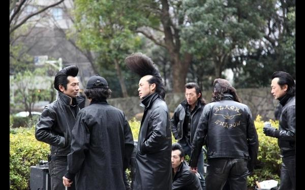 Black Shadow, la tribu urbana rockabilly de Harajuku