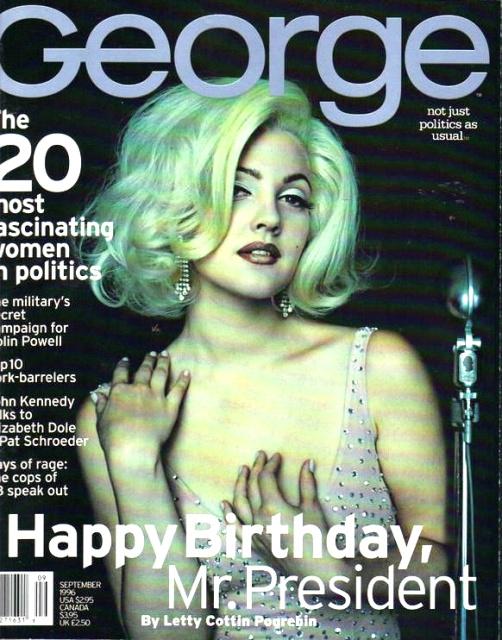 Flashback: Las portadas de George Magazine, 1995-2001