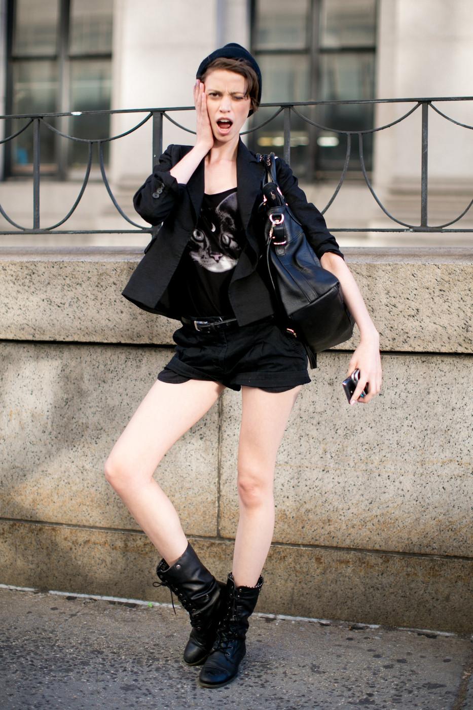 El street style de las modelos en la temporada S/S 2014