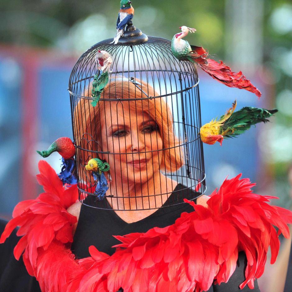 Marina Ripa di Meana, la mujer de los 1.000 sombreros