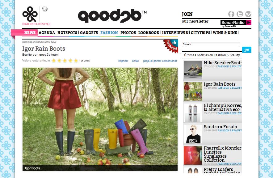 Good2b, el portal de moda creado por la española Ariana Díaz