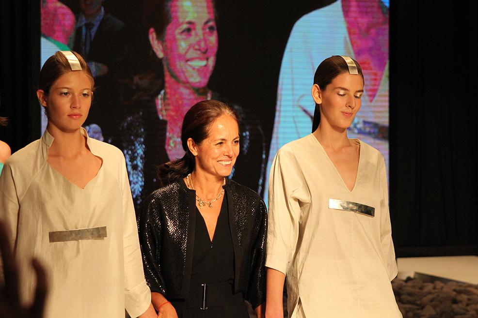 La presentación de María Cornejo en el aniversario de Revista Ya