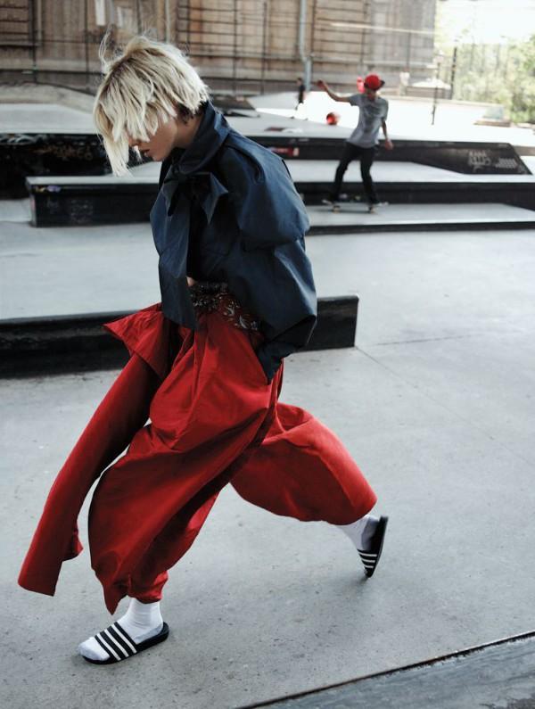 Karlie Kloss para Interview Magazine – Octubre 2013