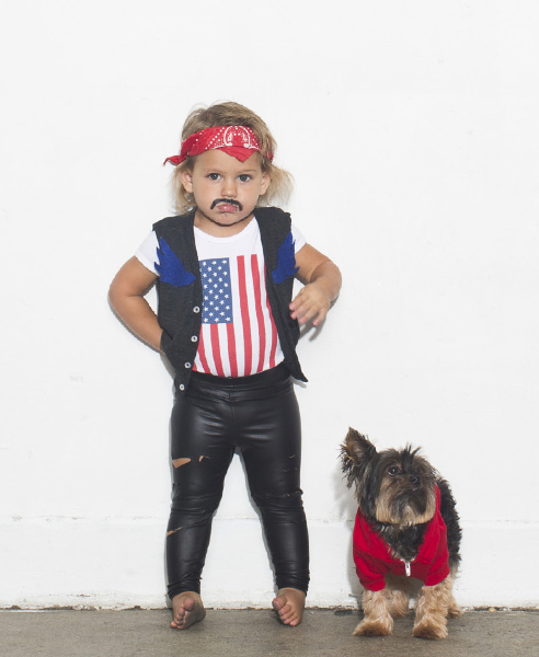 Halloween al estilo American Apparel