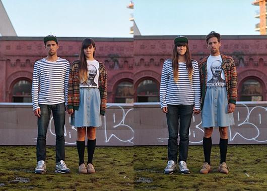 Switcheroo: parejas intercambian sus ropas para el proyecto fotográfico de Hana Pesut