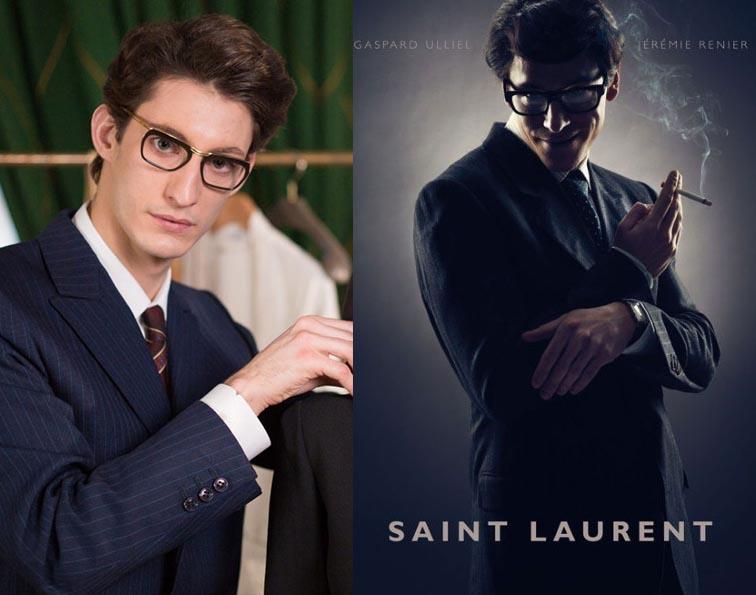 La batalla de las películas sobre Yves Saint Laurent