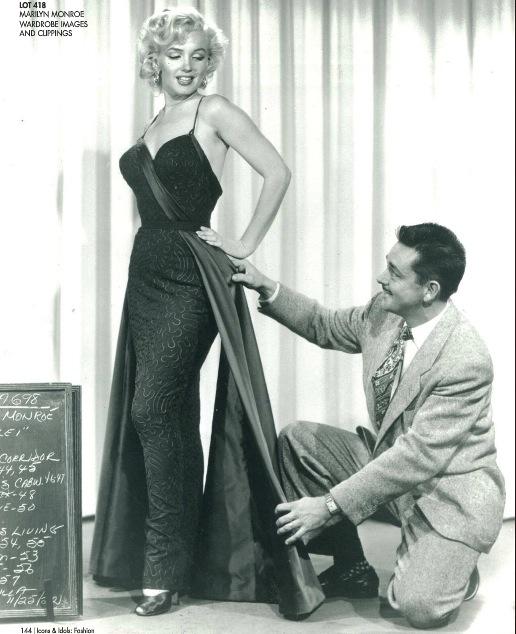 La subasta de William Travilla, el diseñador de Marilyn Monroe