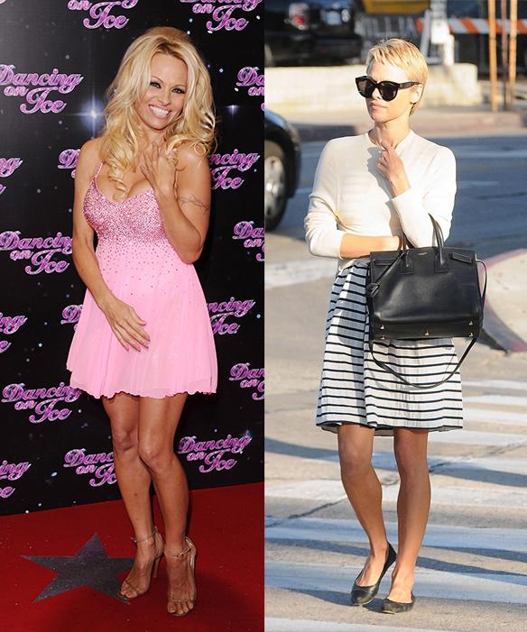 La transformación de Pamela Anderson