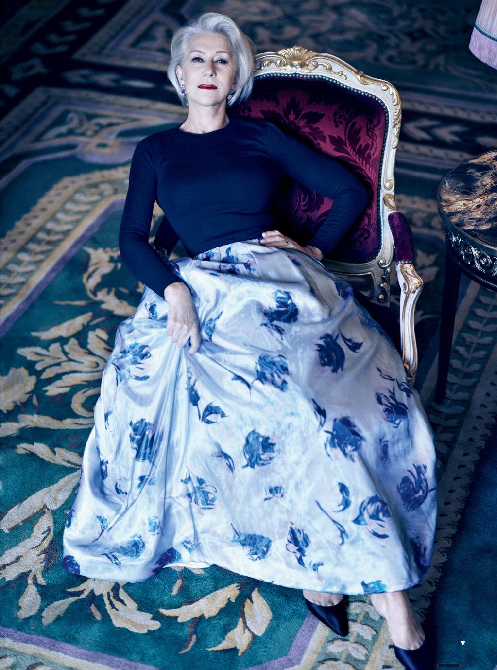 La reina de la alfombra roja tiene 68 años: Helen Mirren