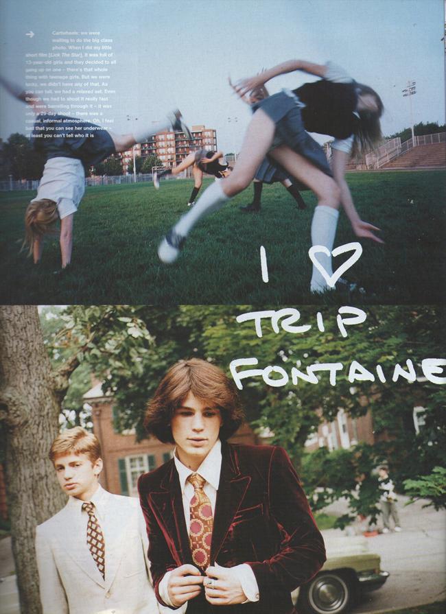 """Flashback: Editorial sobre """"Las Vírgenes Suicidas"""", por Corinne Day y Sofia Coppola (2000)"""