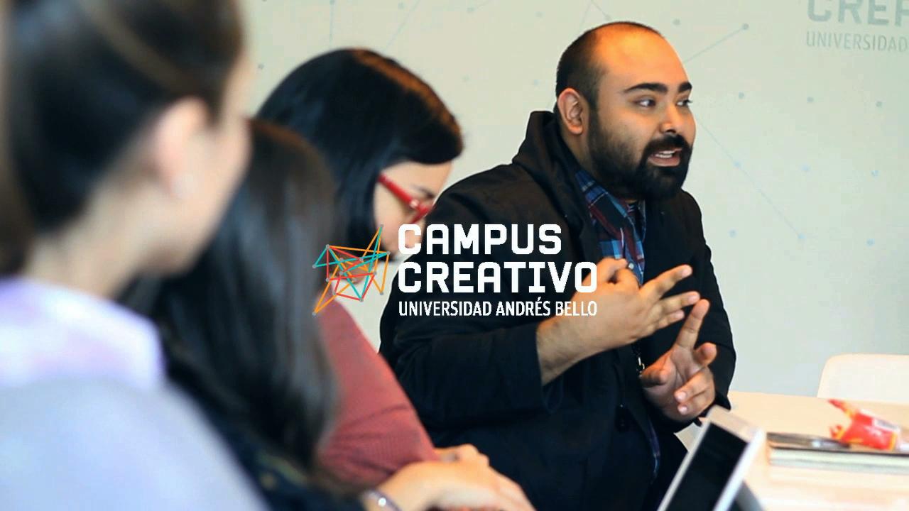 Paulo Méndez en Campus Creativo