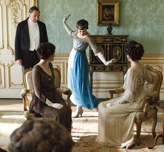 Los vestuarios de Downton Abbey en exposición