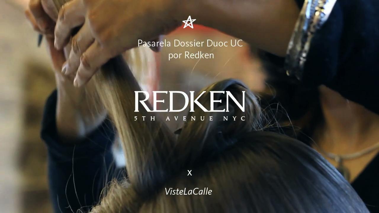 Pasarela Dossier Duoc UC por Redken y VisteLaCalle