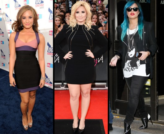 Los radicales cambios de look de Demi Lovato
