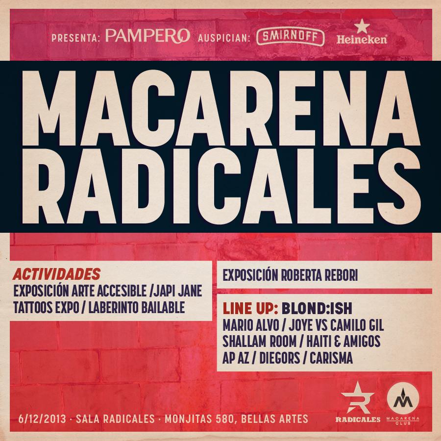 ¡Gana entradas para Macarena Radicales!