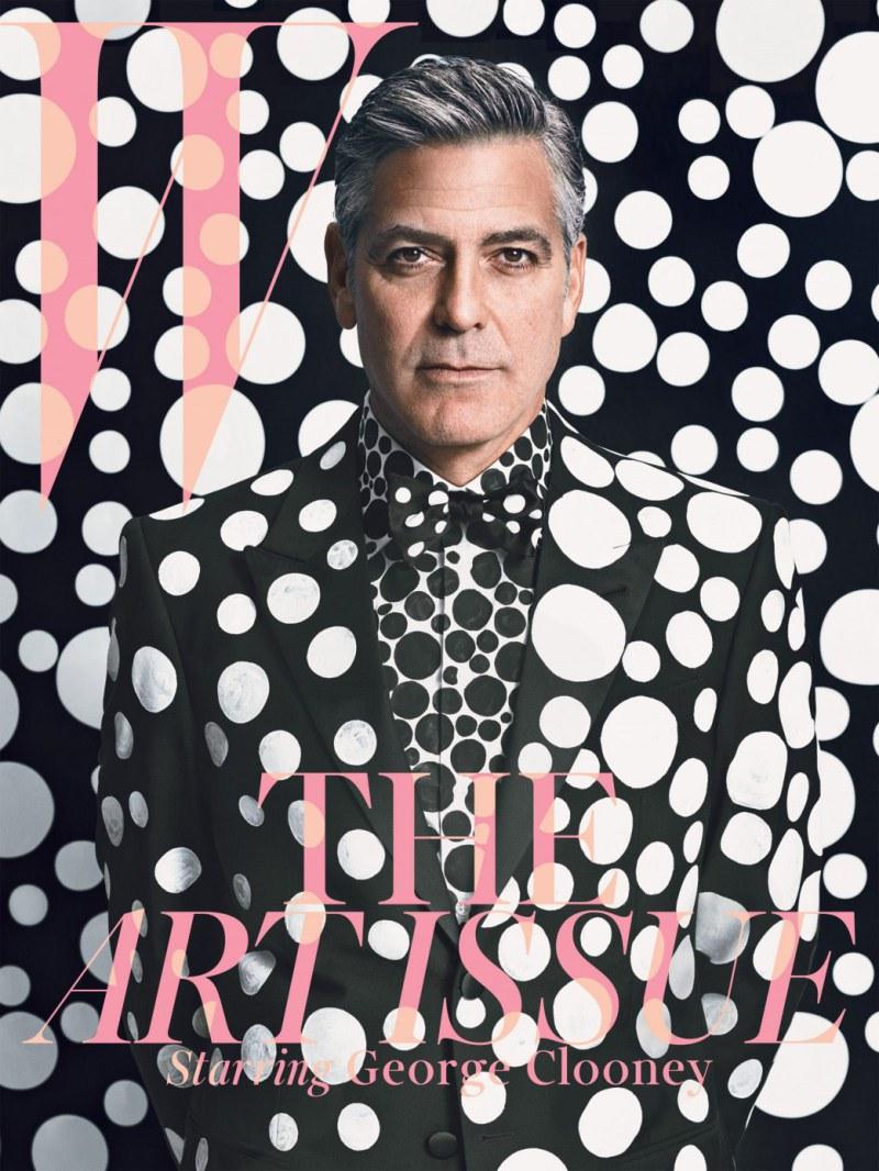 George Clooney a lo Yayoi Kusama