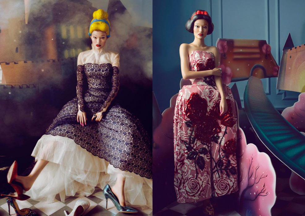 "SHXPIR, el ""doll photographer"" de Harper's Bazaar China"