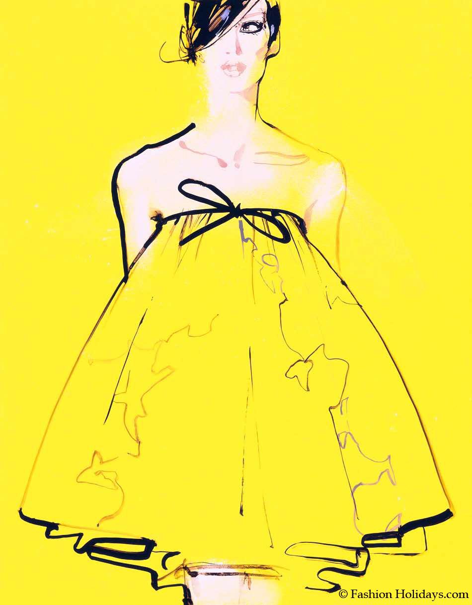 La exhibición sobre ilustradores de moda en Londres