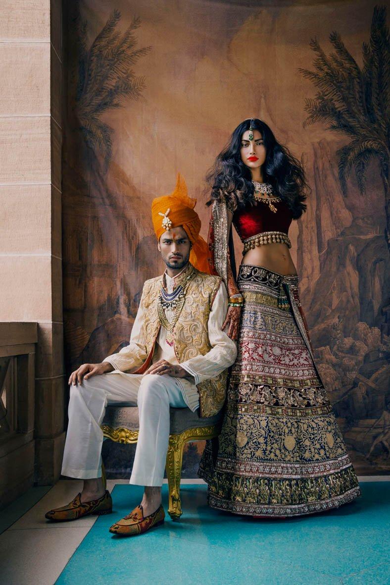Una boda tradicional por Vogue India, 2013