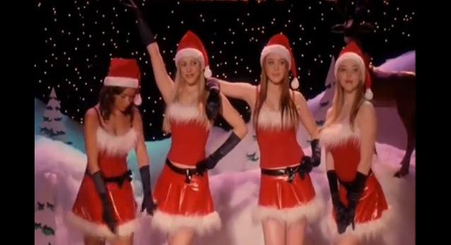 VLC ♥ Jingle Bell Rock por Mean Girls