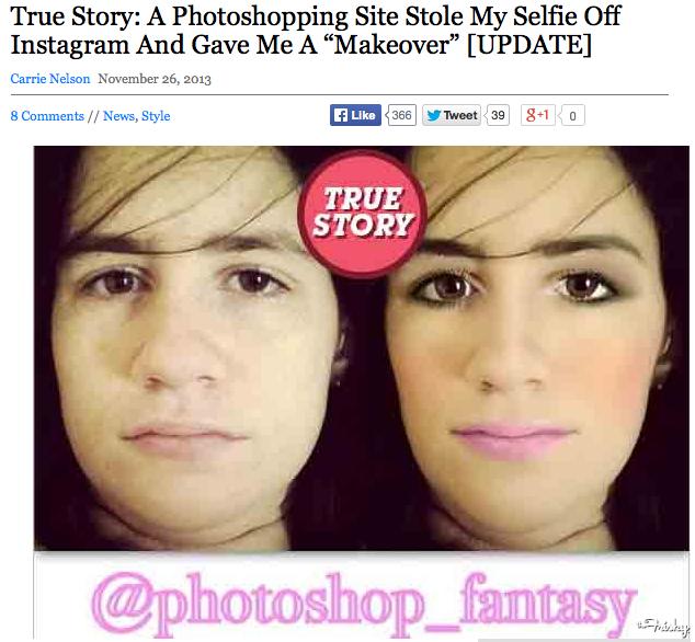 @photoshop_fantasy, la cuenta de Instagram que transforma las selfies