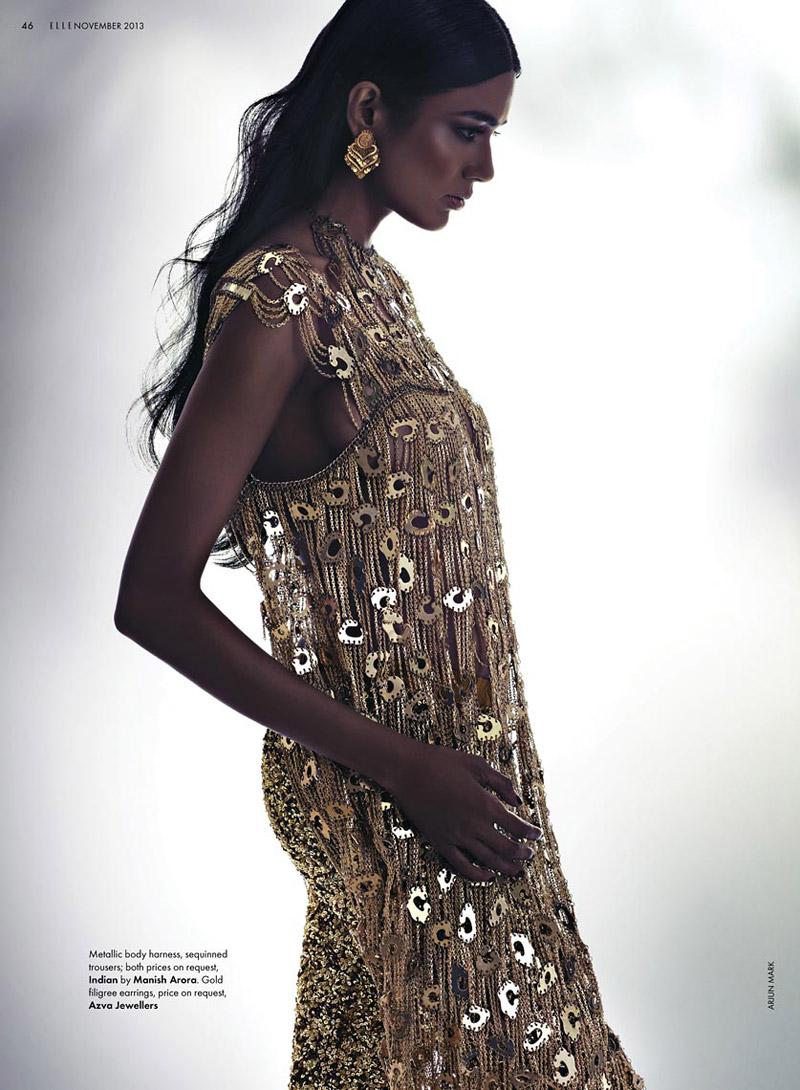 Lujo con aires orientales, gentileza de Vogue India