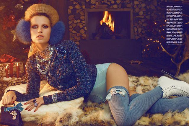 Una Navidad a la moda con Vogue Italia, 2010