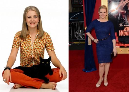 El antes y el después de Melissa Joan Hart