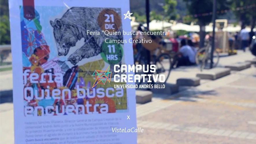 """Feria """"Quien busca encuentra"""" de Campus Creativo"""
