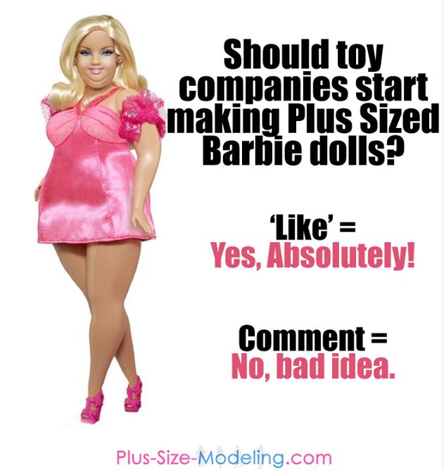 La polémica y el debate en torno a la Barbie Plus-Size
