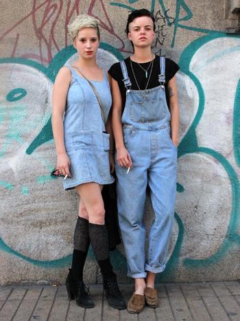 Manuela Opaso y Josefina Moro