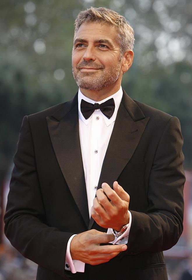 Los cambios de look de George Clooney