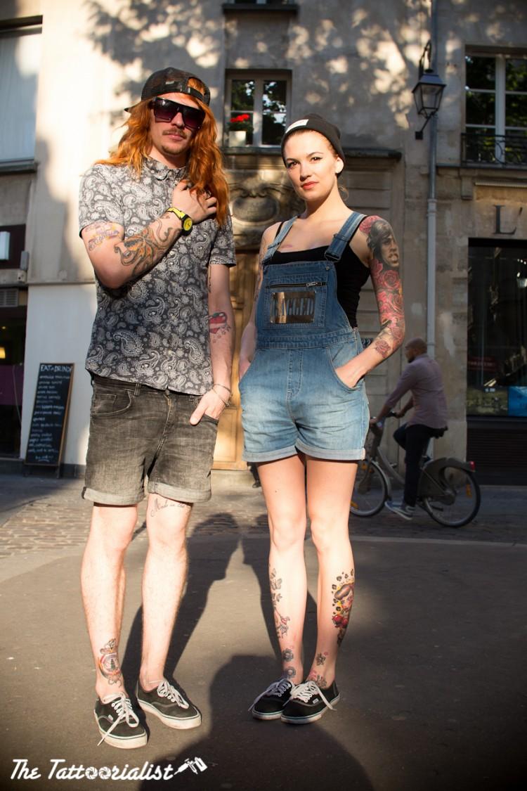 The Tatoorialist: tatuajes + street style