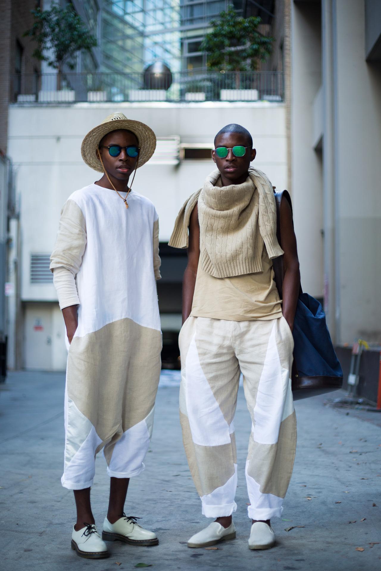 Jalan y Jibril Durimel: los gemelos favoritos del street style