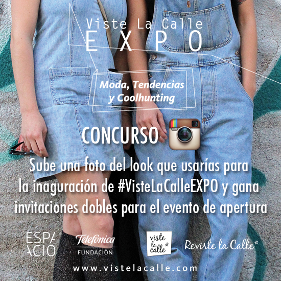 Concurso: Participa por dos invitaciones dobles al evento de inauguración de #VisteLaCalleEXPO