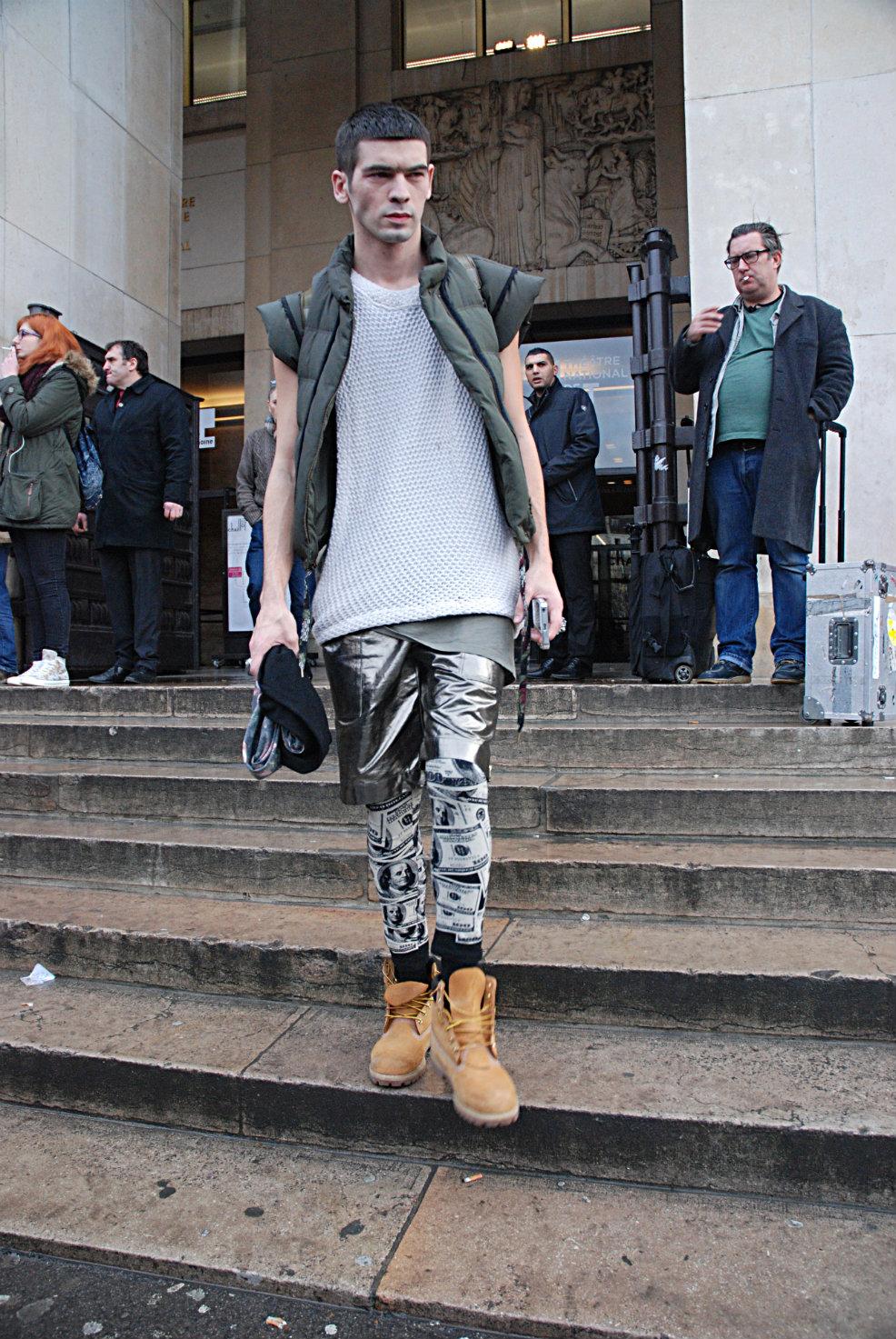 Los looks masculinos del Paris Men's Fashion 2014