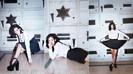 Rachel Nguyen: la blogger que causó controversia al fotografiarse en un Mausoleo Judío en honor al holocausto