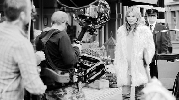 "VLC ♥ Kate Moss para Stuart Weitzman ""Made For Walking"", 2013"