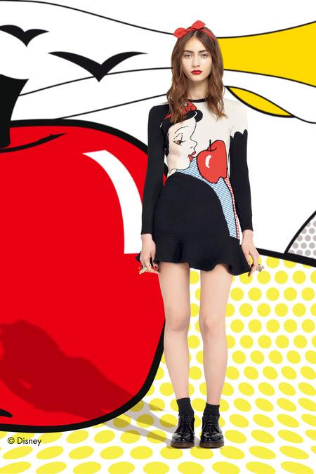 La fantasía Disney de Red Valentino F/W 2014