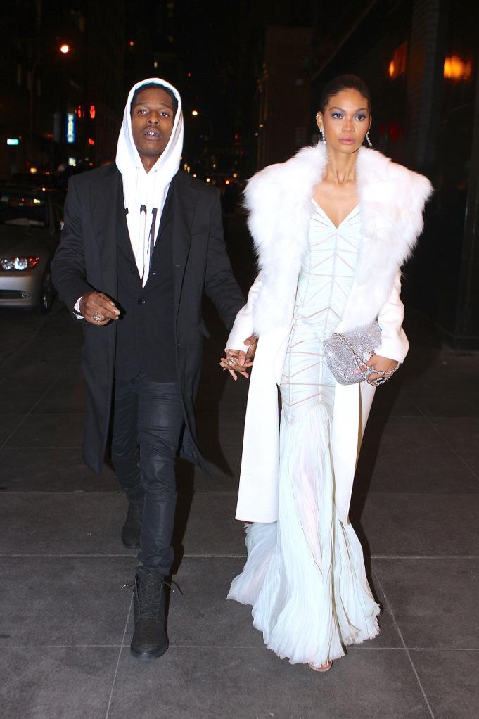 A$AP Rocky y Chanel Iman, la nueva pareja de moda