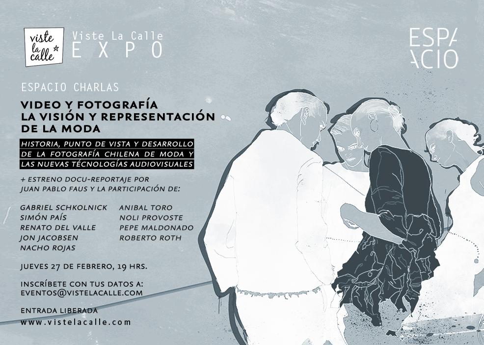 """""""Video y fotografía: La visión y representación de la moda"""" en VisteLaCalle EXPO"""