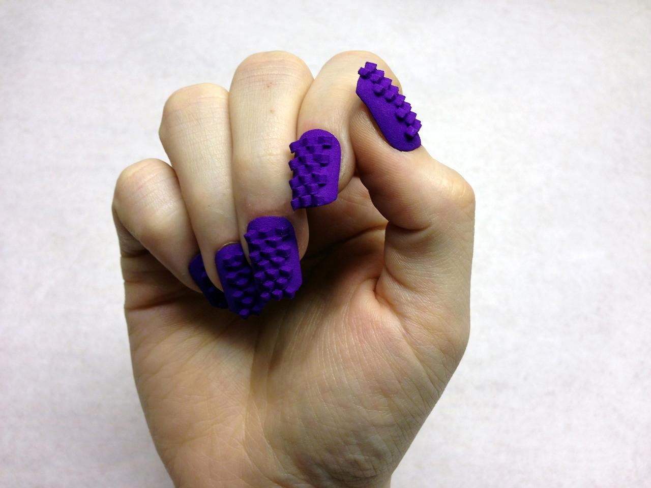 Manicure high-tech: Uñas acrílicas 3D TheLaserGirl